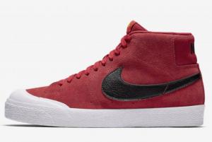 876872 607 Nike SB Blazer Mid XT University Red 2020 For Sale 300x201