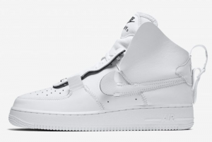 AO9292 101 PSNY x Nike Air Force 1 High White Black 2018 For Sale 300x201