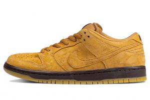 BQ6817 204 Nike SB Dunk Low Wheat Mocha 2020 For Sale 300x201
