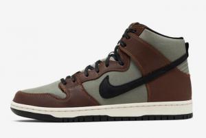 BQ6826 201 Nike SB Dunk High Pro Baroque Brown 2019 For Sale 300x201
