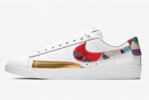 BV6655 116 Nike Blazer Low LE Chinese New Year White Multi Color 2019 For Sale 300x201