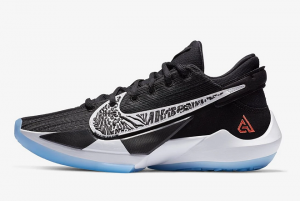 CK5424 001 Nike Zoom Freak 2 Black White 2020 For Sale 300x201