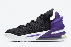 CQ9283 004 Nike LeBron 18 Lakers 2020 For Sale 300x201