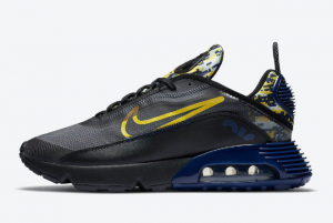 DB6521 001 Nike Air Max 2090 Yellow Camo 2020 For Sale 300x201