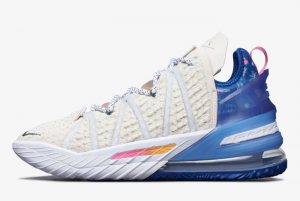 DB8148 200 Nike LeBron 18 Los Angeles By Day 2020 For Sale 300x201