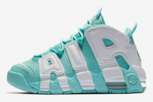415082 300 Nike Air More Uptempo GS Island Green 2017 For Sale 300x201