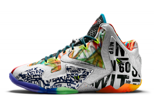 650884 400 Nike LeBron 11 Premium What The 2014 For Sale 300x201