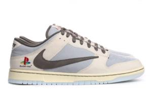 BQ6817 101 Travis Scott x PlayStation x Nike Dunk Low 2020 For Sale 300x201