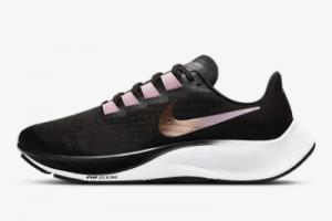 BQ9647 007 Nike WMNS Air Zoom Pegasus 37 Black Light Arctic Pink Metallic Red Bronze White Running Shoe 2020 For Sale 300x200
