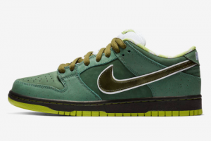 BV1310 337 Concepts x Nike SB Dunk Low Green Lobster 2018 For Sale 300x201