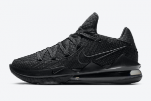 CD5007 003 Nike LeBron 17 Low Triple Black 2020 For Sale 300x201