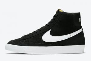 CI1172 005 Nike Blazer Mid 77 Suede Black White 2020 For Sale 300x201