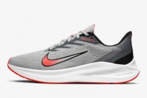CJ0291 012 Nike Air Zoom Winflo 7 Photon Dust Black White Bright Crimson 2020 For Sale 300x200