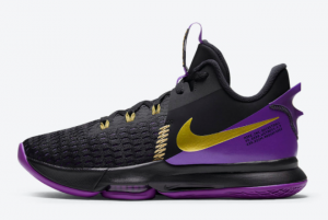 CQ9381 001 Nike LeBron Witness 5 Lakers 2020 For Sale 300x201