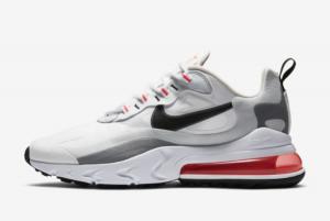 CT1280 100 Nike Air Max 270 React White Flash Crimson 2020 For Sale 300x201