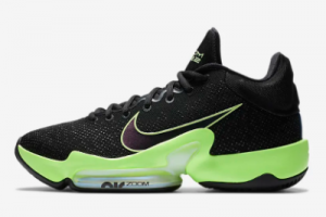 CT1495 001 Nike Zoom Rize 2 EP Black Lime Blast Valerian Blue Basketball Shoe 2019 For Sale 300x200