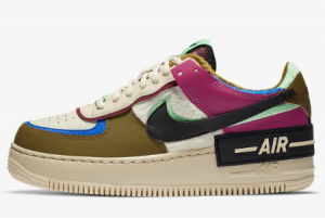 CT1985 500 Nike Wmns Air Force 1 Shadow SE Cactus Flower 2020 For Sale 300x201