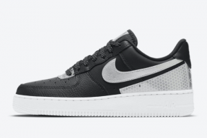 CT1992 001 3M x Nike Air Force 1 Black Reflect 2020 For Sale 300x201