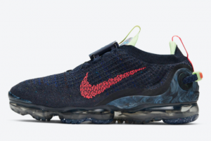 CW1765 400 Nike Air VaporMax 2020 Obsidian Siren Red Barely Volt For Sale 300x201