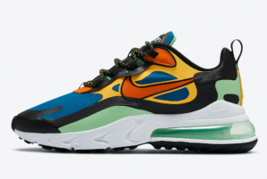 CZ7869 300 Nike Air Max 270 React Green Abyss Black Laser Orange Starfish 2020 For Sale 300x201