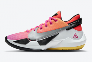 DB4689 600 Nike Zoom Freak 2 NRG Bright Crimson Fire Pink 2020 For Sale 300x201