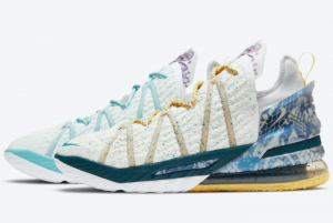DB8148 100 Nike LeBron 18 Reflections Flip 2020 For Sale 300x201