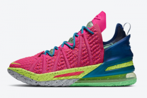 DB8148 600 Nike LeBron 18 Los Angeles By Night 2020 For Sale 300x201