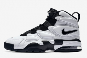 922934 102 Nike Air Max2 Uptempo White Black 2017 For Sale 300x201