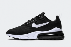 AO4971 004 Nike Air Max 270 React Black White Black 2019 For Sale 300x201