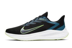 CJ0291 004 Nike Air Zoom Winflo 7 Black Vapor Green Valerian Blue 2020 For Sale 300x201