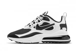 CT1646 100 Nike Air Max 270 React White Black Marathon Running Shoes For Sale 300x201