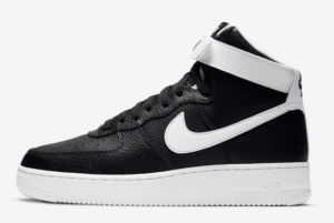 CT2303 002 Nike Air Force 1 High Black White 2020 For Sale 300x201