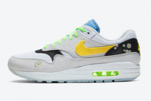 CW5861 100 Nike Air Max 1 Daisy 2020 For Sale 300x201