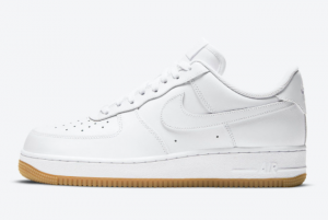 DJ2739 100 Nike Air Force 1 Low White Gum 2020 For Sale 300x201