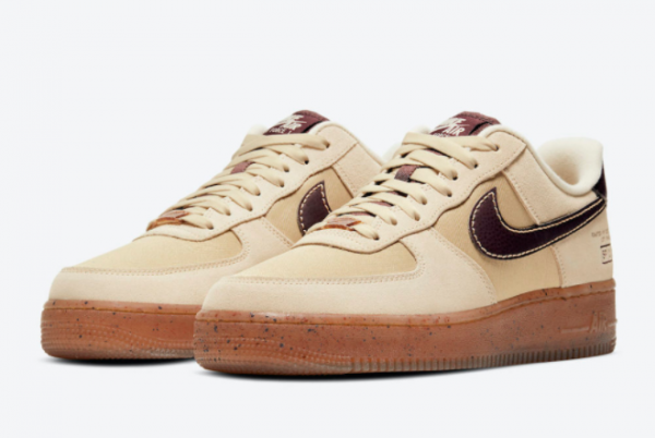 2021 New Nike Air Force 1 Low Coffee DD5227-234 Online-1