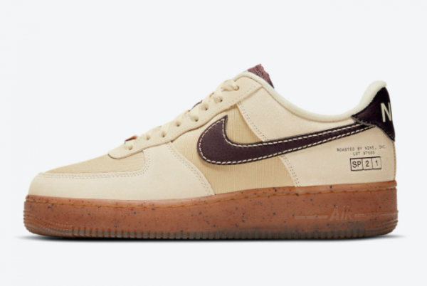 2021 New Nike Air Force 1 Low Coffee DD5227-234 Online