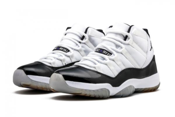 Best Sell Air Jordan 11 Retro Concord 378037-107 Running Shoes-3