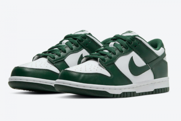 New Nike Dunk Low Team Green DD1391-101 For Sale-3