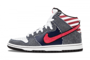 Nike SB Dunk High Born in the USA 313171-100 Online