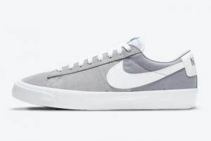 2021 Brand New Nike SB Blazer Low GT Wolf Grey DC7695-001