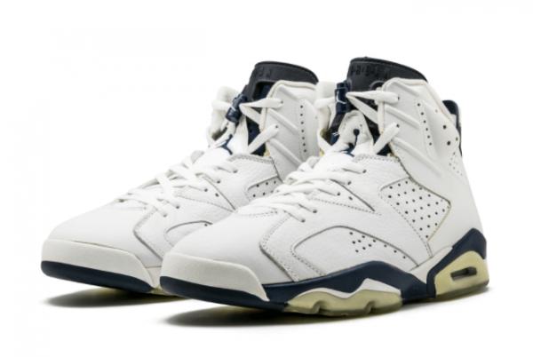 2021 Cheap Air Jordan 6 Midnight Navy Basketball Shoe CT8529-141-1