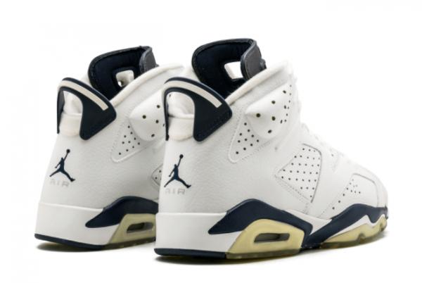 2021 Cheap Air Jordan 6 Midnight Navy Basketball Shoe CT8529-141-3