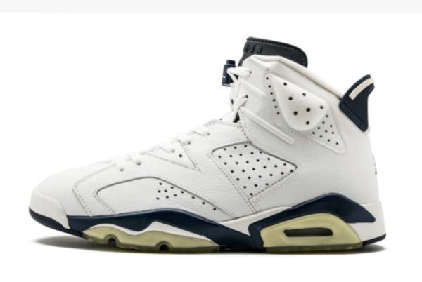 2021 Cheap Air Jordan 6 Midnight Navy Basketball Shoe CT8529-141