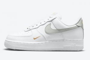 2021 Cheap Nike Air Force 1 Low White Grey Gold CZ0270-106