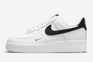 2021 New Arrival Nike Air Force 1 Low White Black Gold CZ0270-102