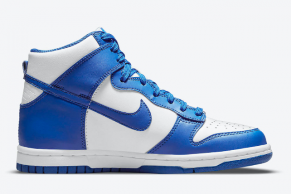 2021 New Arrival Nike Dunk High Game Royal DD1399-102-1