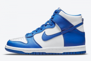 2021 New Arrival Nike Dunk High Game Royal DD1399-102
