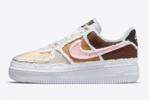 2021 Nike Air Force 1 Low Fauna Brown DJ9941-244 For Sale Online