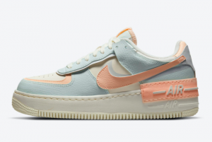 2021 Nike Air Force 1 Shadow Sail/Barely Green-Crimson Tint CU8591-104 For Sale