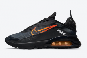 2021 Nike Air Max 2090 Black Orange DJ6883-001 Special Deals